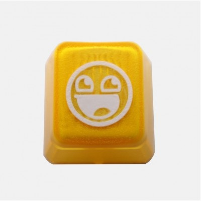 KeyPop Translucent Awesome Face Keycap